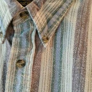 Eddie Bauer Men's Long Sleeve Flannel 100% Cotton